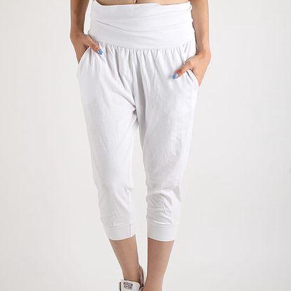 Tepláky Terranova Pantalone Bílá