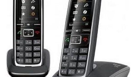 Domácí telefon Siemens Gigaset C530 Duo černý (L36852-H2512-R601)