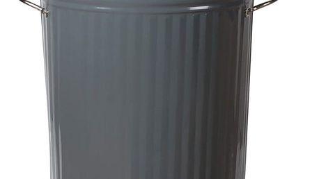 Šedý odpadkový koš Garden Trading Bin in Kitchen, 46 l