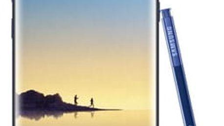 Mobilní telefon Samsung Note8 (SM-N950FZBDETL) modrý Software F-Secure SAFE, 3 zařízení / 6 měsíců + Dron Denver DCH-200 černý/oranžový v hodnotě 2 569 Kč + DOPRAVA ZDARMA
