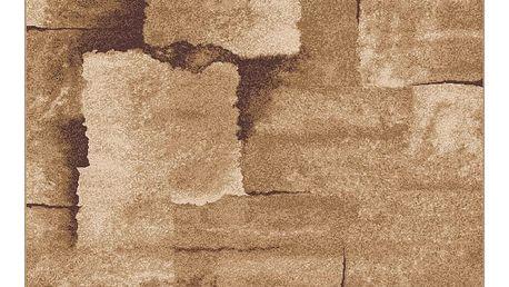 Béžový koberec Universal Boras Beuge II, 57x110cm