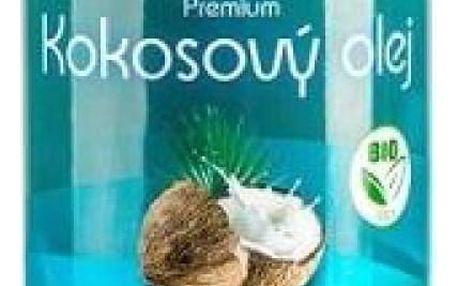 ALLNATURE Kokosový olej panenský BIO 1000 ml