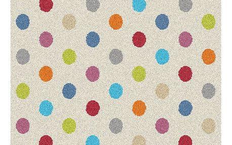 Koberec Universal Norge White Dots, 133x190cm
