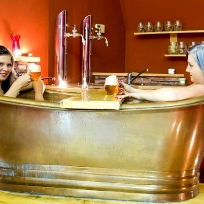 Pivní a vinné lázně Casiopea na Vysočině