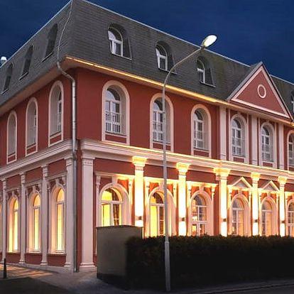 Relaxační wellness pobyt pro dva v krásném Hotelu Millenium, polopenze, luxusní ubytování.