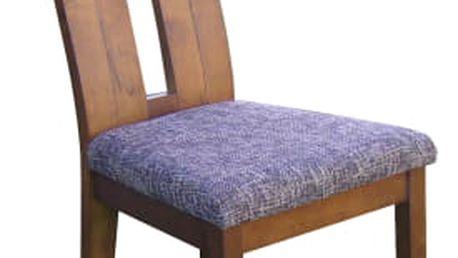 Elegantní jídelní židle NELA s čalouněným sedákem
