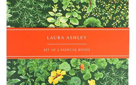 Sada 2 zápisníků A5 Laura Ashley Living Wall by Portico Designs,100stránek