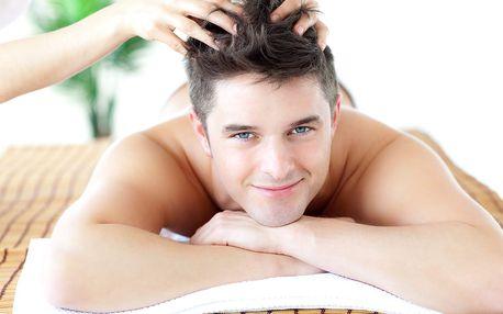 Antistresová masáž hlavy či reflexní masáž chodidel
