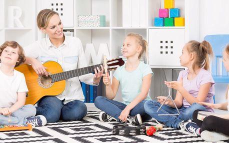 2hodinový hudební kurz pro děti v centru Prahy