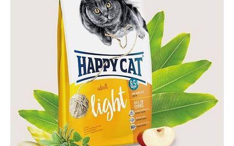 HAPPY CAT ADULT Light - Lehká výživa 4 kg