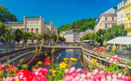 Hotel Adria v Karlových Varech pro 2 se snídaní