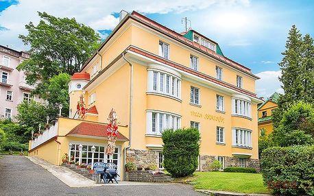 3–6denní wellness pobyt v hotelu Villa Skalník*** v Mariánkách s polopenzí pro 2