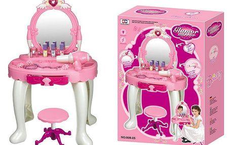 G21 24457 Dětský kosmetický stolek s fénem