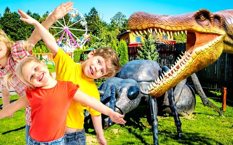 Největší dinosauří park ve střední Evropě