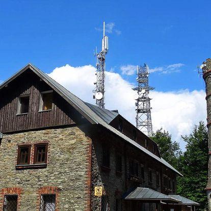 České Švýcarsko s polopenzí a saunou na vrcholku hory Jedlová
