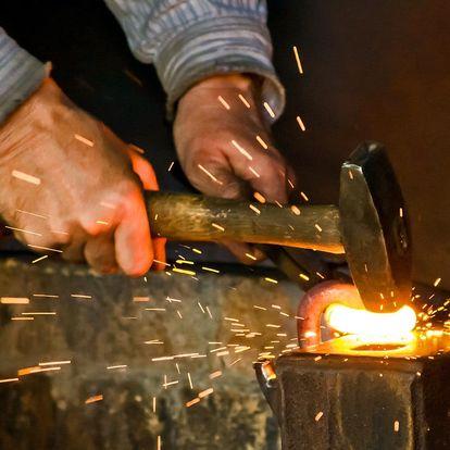 3–5hod. kurz kovářství včetně výroby dárku