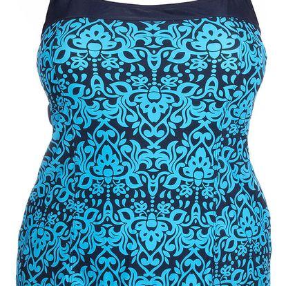 Modera Plavkové dámské plavky-šaty Kate 802