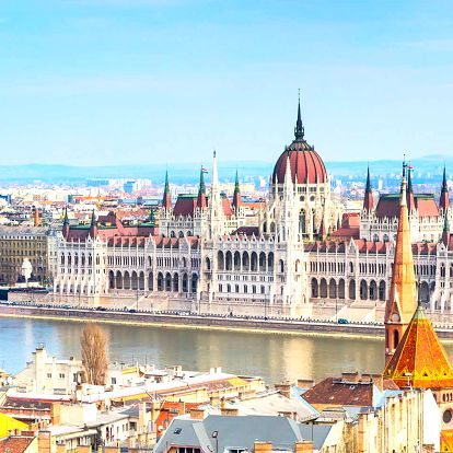 Wellness Hotel Rubin v zelené části Budapešti