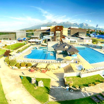 Leto pod Tatrami v AquaCity Riverside*** s neobmedzeným aquaparkom