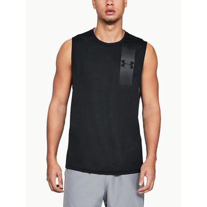 Tílko Under Armour Threadborne Grph Muscle Tank Černá