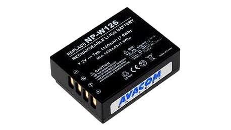 Akumulátor pro video/foto Avacom pro Fujifilm NP-W126 Li-Ion 7,2V 1100mAh (DIFU-W126-744)