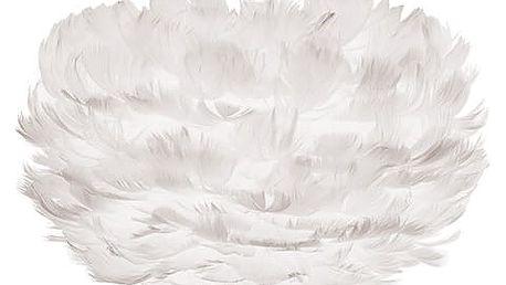Bílé svítidlo z husího peří VITA Copenhagen EOS,Ø22cm