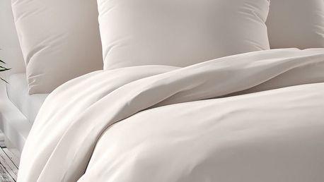 Kvalitex Saténové povlečení Luxury Collection bílá, 200 x 200 cm, 2 ks 70 x 90 cm