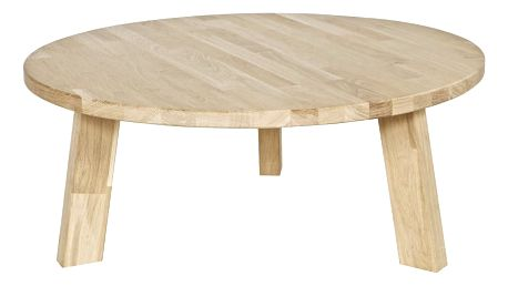 Dubový konferenční stolek De Eekhoorn Rhonda