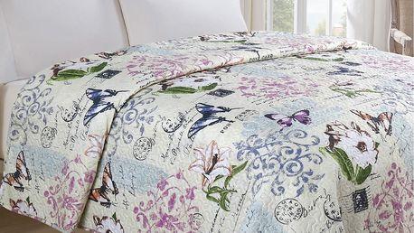 Jahu Přehoz na postel Motýl, 140 x 220 cm