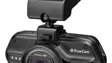 Autokamera TrueCam A5S černá + dárek