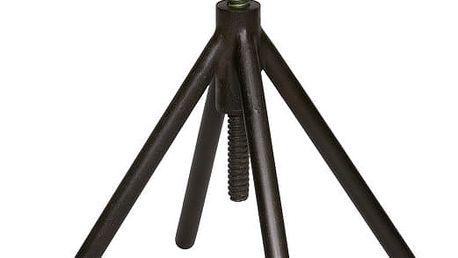 Dřevěná stolička s černými nohami De Eekhoorn Lily