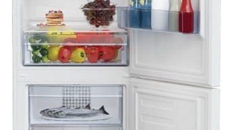 Chladnička s mrazničkou Beko RCSA 340 K20W bílá