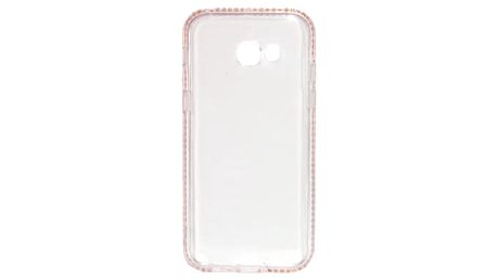 Kryt na mobil Beeyo Diamond Frame pro Samsung Galaxy A5 (2017) růžový (BEASAGAA52017TPUFRPI)