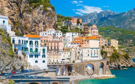 Jižní Itálie: návštěva Říma a Amalfského pobřeží