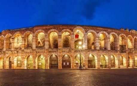 Opera ve Veroně s koupáním u jezera Lago di Garda