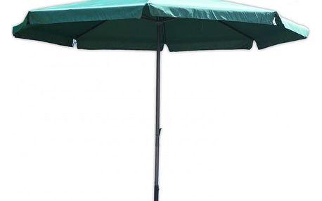 Tradgard STANDART 3912 Slunečník 4 m zelený s kličkou