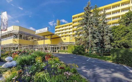 Hotel Helios s termálním jezerem, wellness a polopenzí u Balatonu