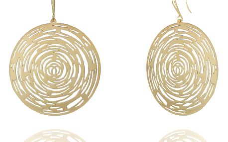 Fashion Icon Náušnice mandala zlaté