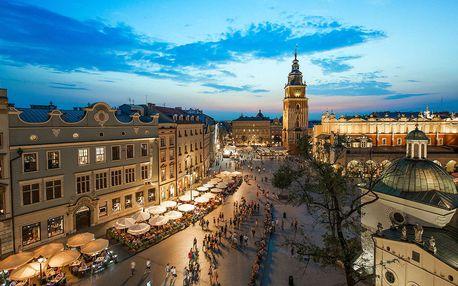 Památky Krakova s ubytováním v hotelu Petrus ***