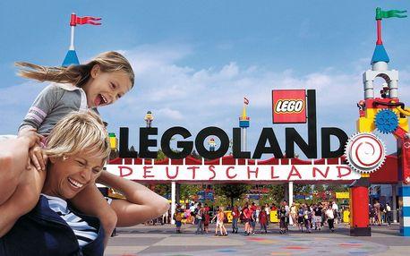 Legoland - zájezd do slavného zábavního parku v Německu