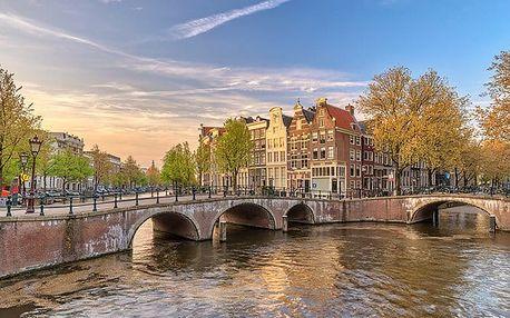 5denní zájezd pro 1 osobu s ubytováním do Amsterdamu a holandských národních parků