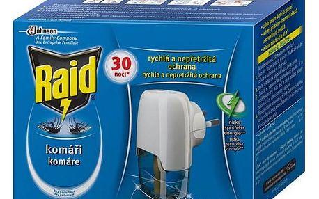 Raid odpařovač s tekutou náplní 30 nocí