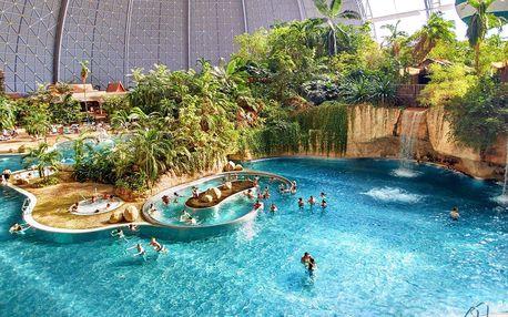 Oblíbený aquapark Tropical Islands v Německu