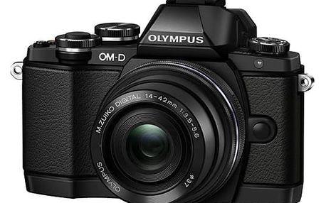 Digitální fotoaparát Olympus E-M10II 1442IIR černý
