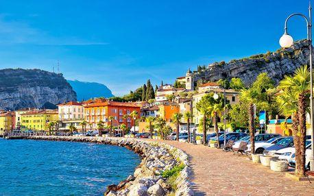 1 noc v Itálii: Lago di Garda i Monte Baldo