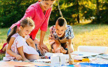 Podzimní pobyt s programem pro maminky s dětmi