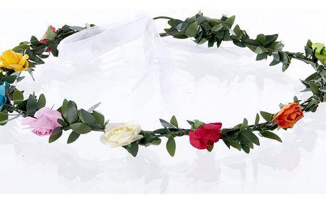 Fashion Icon Čelenka do vlasů - květinový věneček drobné