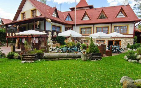 Jaro v Tatrách ve Vile Astra s privátním wellness a polopenzí