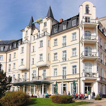 Luxusní wellness pobyt v centru Mariánských Lázní