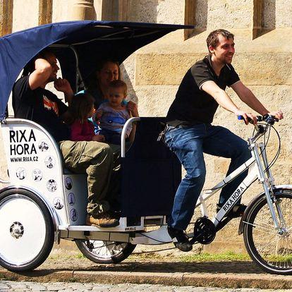 Vyhlídkové jízdy s rikšou v Kutné Hoře